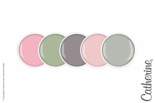 Коллекция цветных гелей