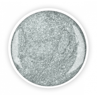"Цветной глиммер-гель ""Сильбер"" (Silber glimmer), 5 г/4.5 мл"