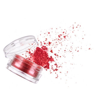 Пудра «Бриллиантовый эффект», красная