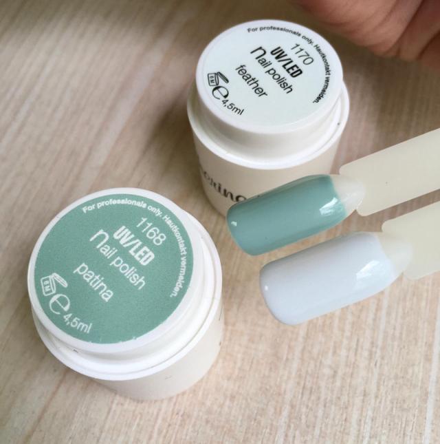 UV nail polish Feather