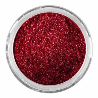 Пудра «Зеркальный эффект», красно-розовый