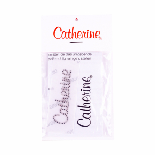Термо-этикетка логотип Catherine Crystal