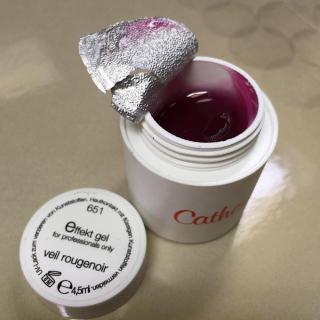 "Effekt gel Veil rougenoir/ Эффект-гель ""Вейл Ружнуар"""