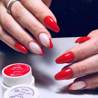 UV nail polish Glory.