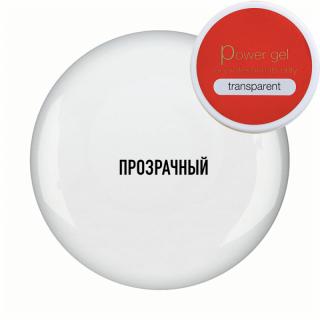 """Гель Повер """"Транспарент"""" (Power Gel Transparent), 40 г/36 мл"""